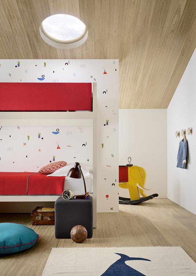 Letto A Castello Twins.Children S Bedrooms Nidi Gelosa Arredi Lissone