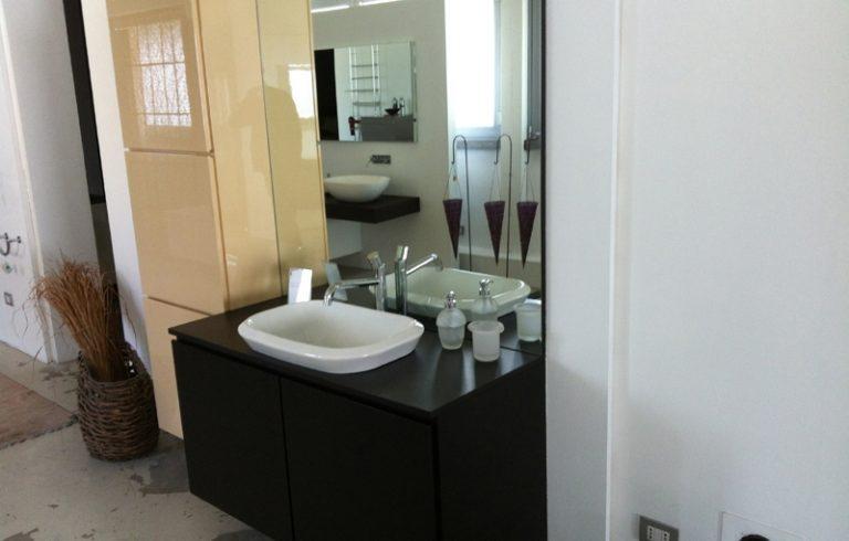 Outlet Mobile bagno in wengè - Gelosa Arredi Lissone